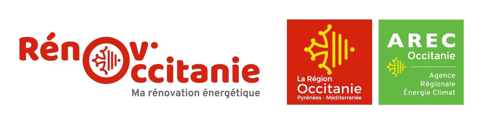 Logos Renov'Occitanie